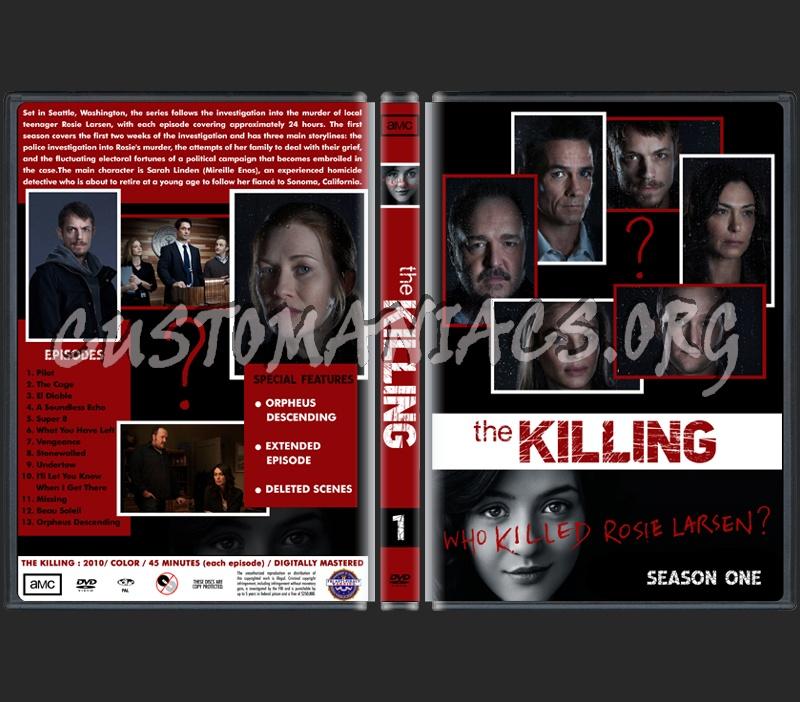The Killing Season One dvd cover