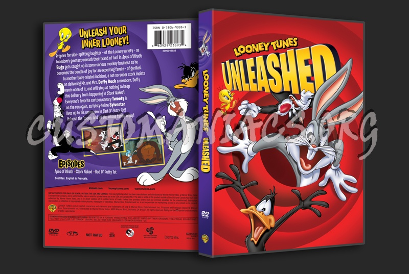 Looney Tunes Unleashed dvd cover