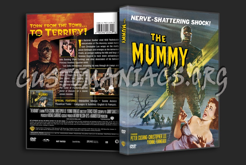 The Mummy (1959) dvd cover