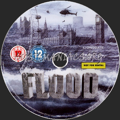Flood dvd label