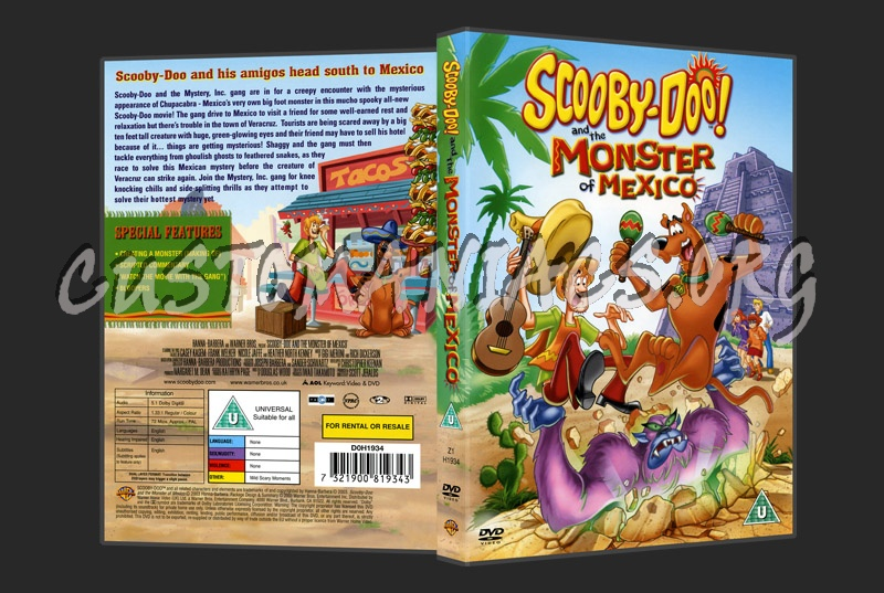 Scooby Doo & The Monster Of Mexico dvd cover