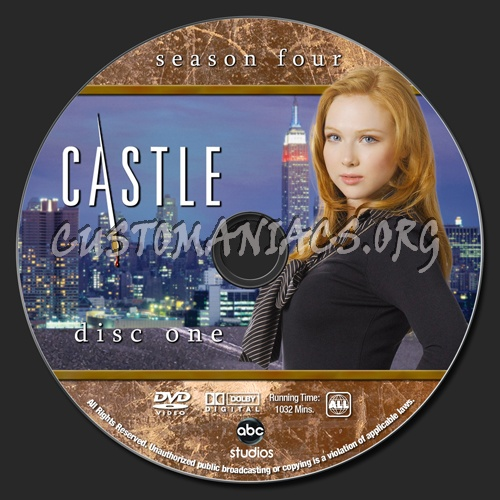 Castle Season 4 Dvd Label