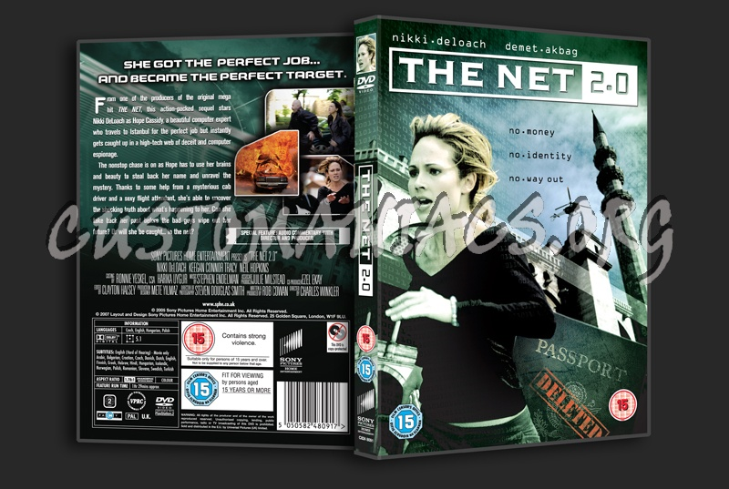 The Net 2.0 dvd cover