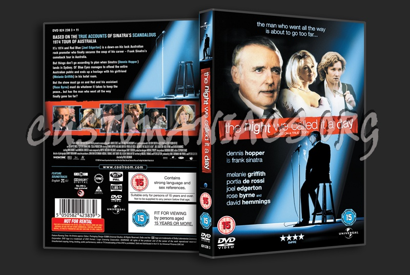 The Night We Called it a Day dvd cover