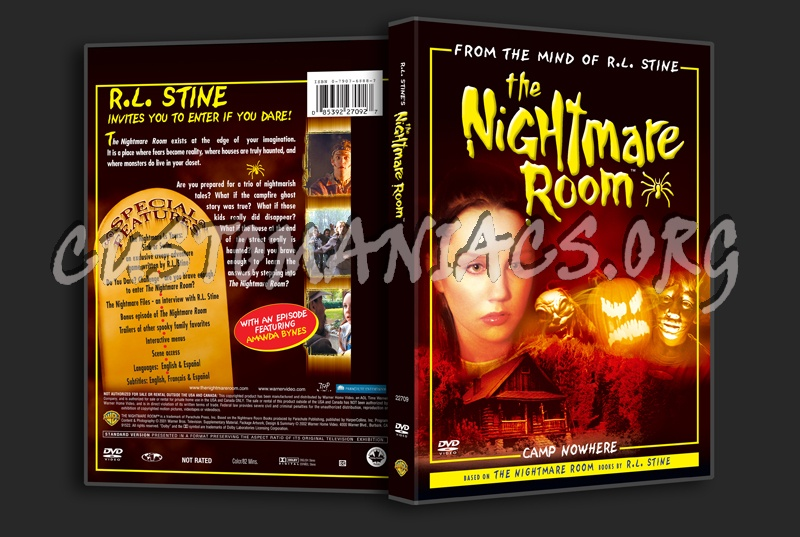 The Nightmare Room dvd cover