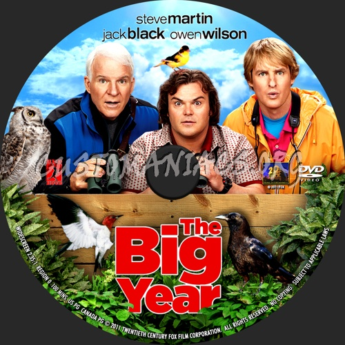The Big Year dvd cover - DVD Covers & Labels by ...  |The Big Year Dvd