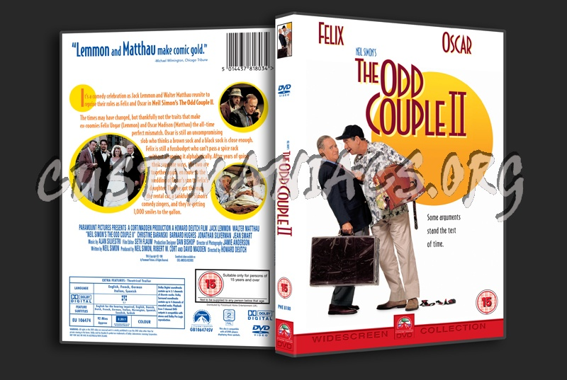 The Odd Couple 2 dvd cover