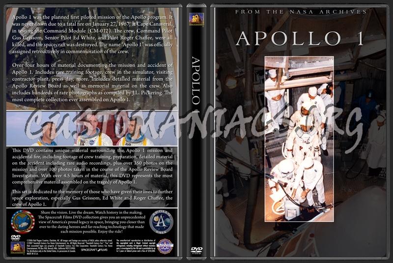 Spacecraft Films / NASA - The Apollo Collection dvd cover ...