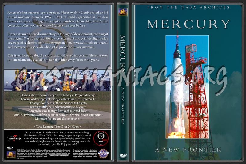 Spacecraft Films / NASA - Project Mercury dvd cover - DVD ...