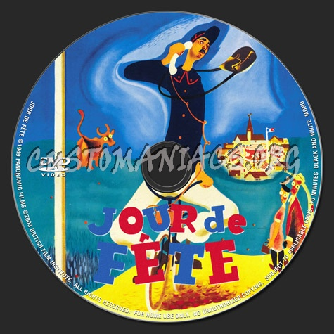 Jour de fete dvd label dvd covers labels by customaniacs id 158099 free download highres - Jour de fete vendenheim ...