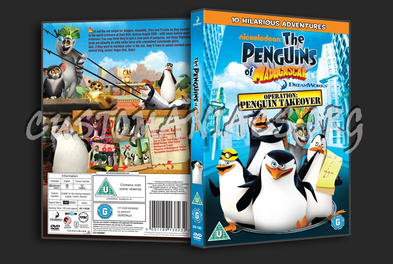 The Penguins Of Madagascar Operation Penguin Takeover