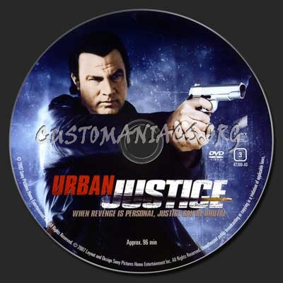 Urban Justice dvd label