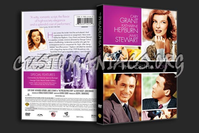 The Philadelphia Story dvd cover