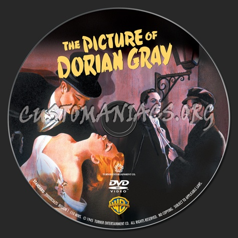 The Picture of Dorian Gray dvd label