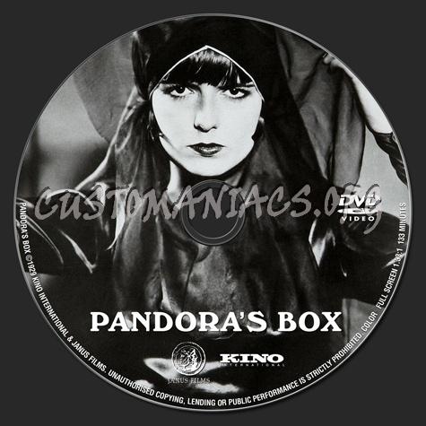 Pandora's Box dvd label