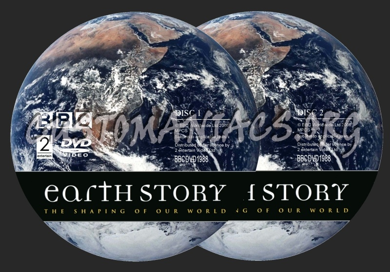 BBC Earth Story dvd label
