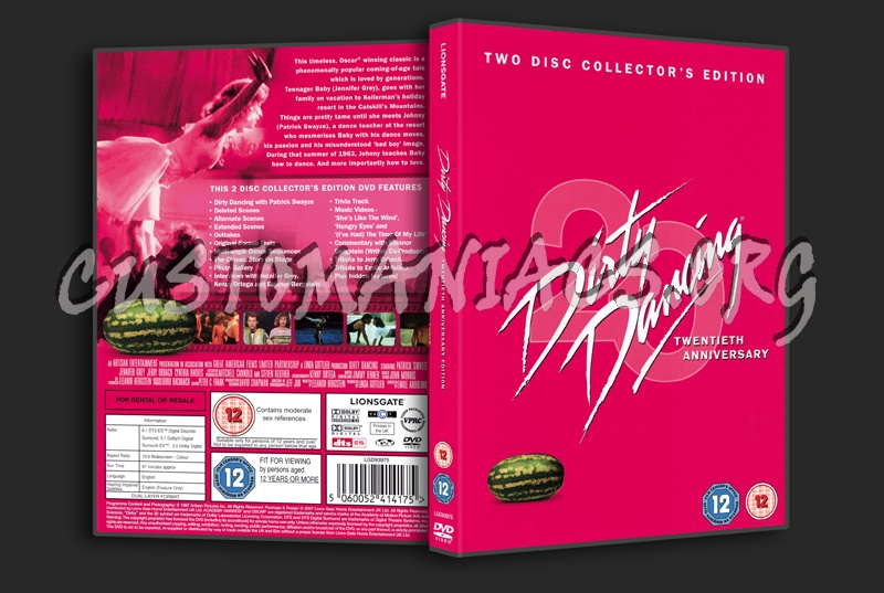 Dirty Dancing dvd cover