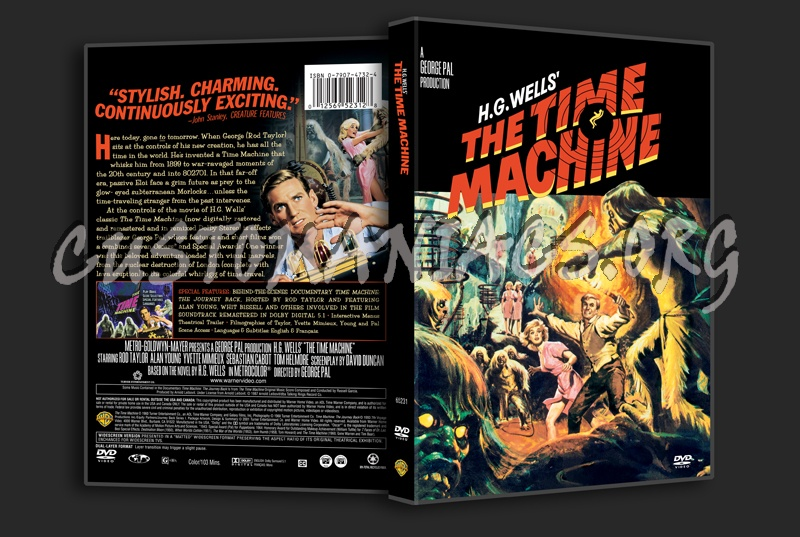 The Time Machine dvd cover