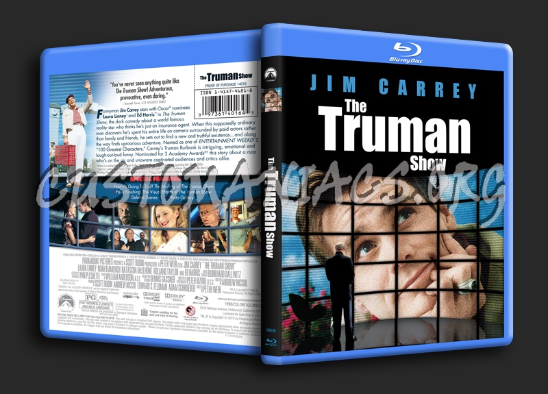 The Truman Show blu-ray cover