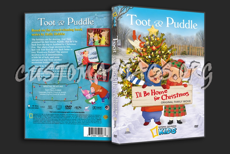 Ill Be Home For Christmas Dvd.Toot Puddle I Ll Be Home For Christmas Dvd Cover Dvd