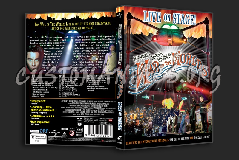 The War of the Worlds (1953) dvd cover