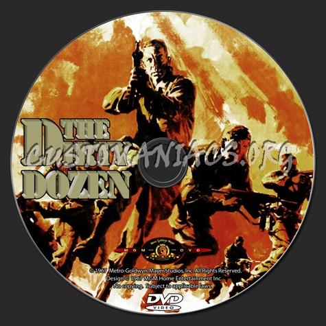 The Dirty Dozen dvd label