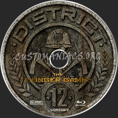 Hunger Games blu-ray label