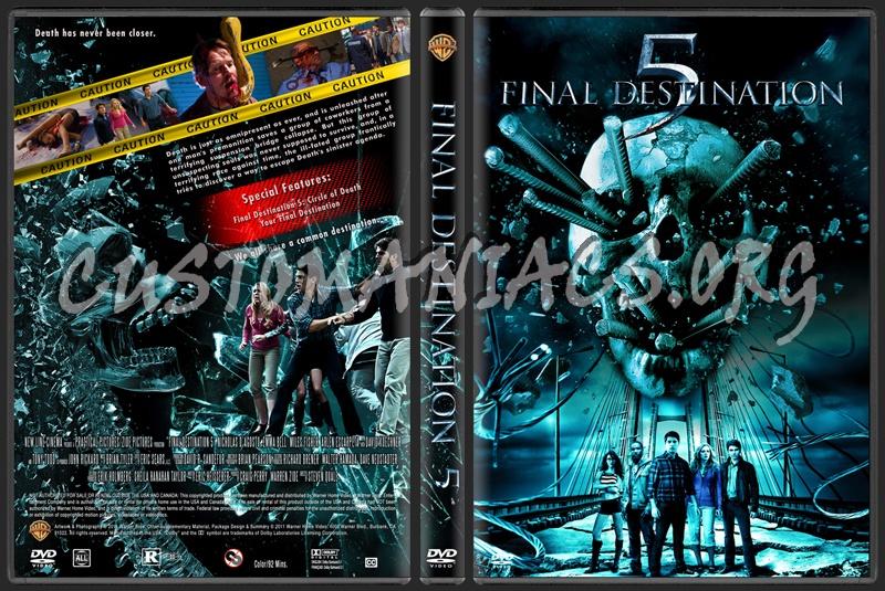 Final Destination 5 dvd cover