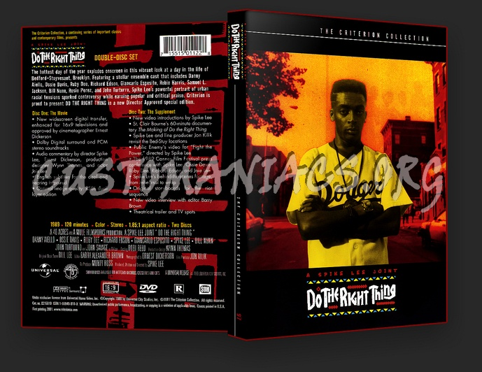 097 - Do The Right Thing dvd cover