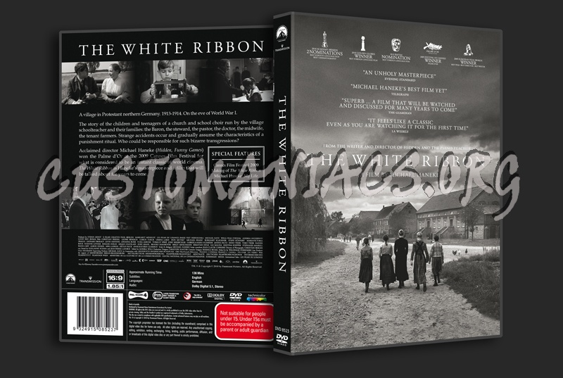 The White Ribbon dvd cover