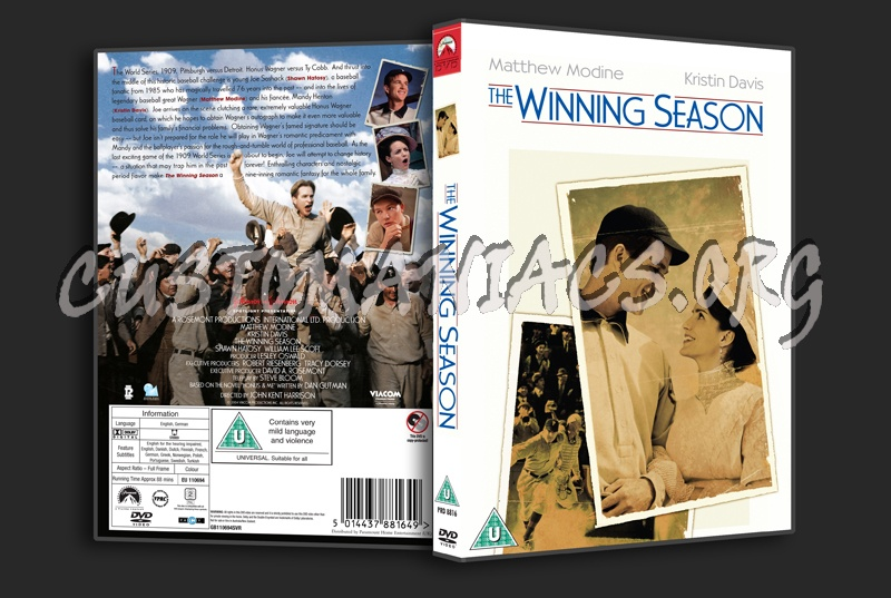 The Winning Season dvd cover