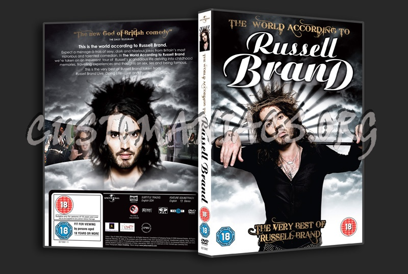 The World According to Russell Brand dvd cover