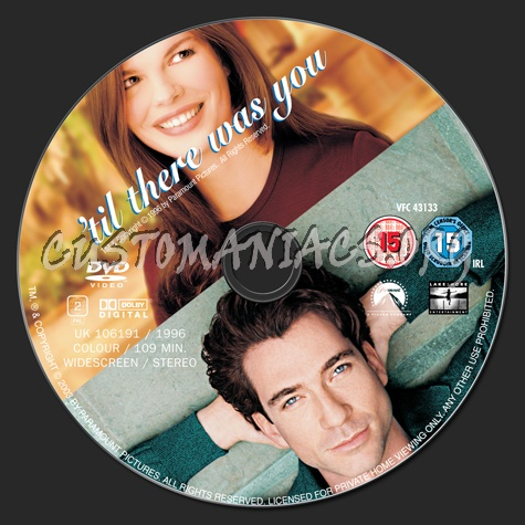 'til There Was You dvd label