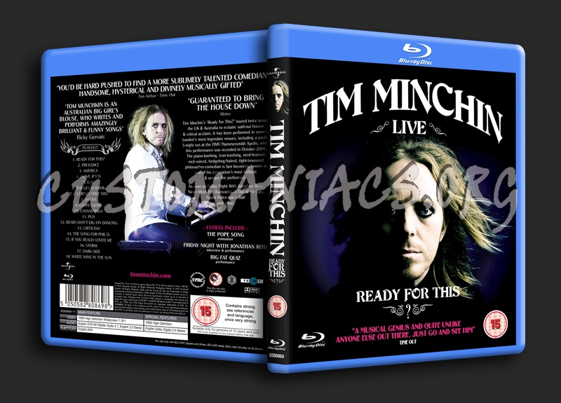 Tim Minchin Ready for This blu-ray cover