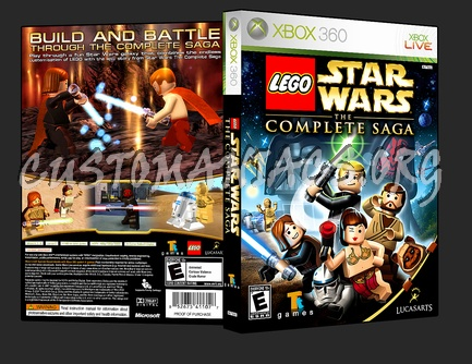 Lego Star Wars The Complete Saga dvd cover - DVD Covers & Labels by ...