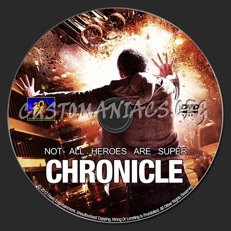 Chronicle dvd label
