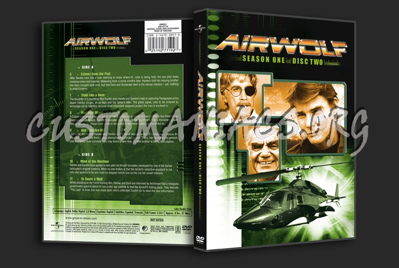 Airwolf Season 1 dvd cover