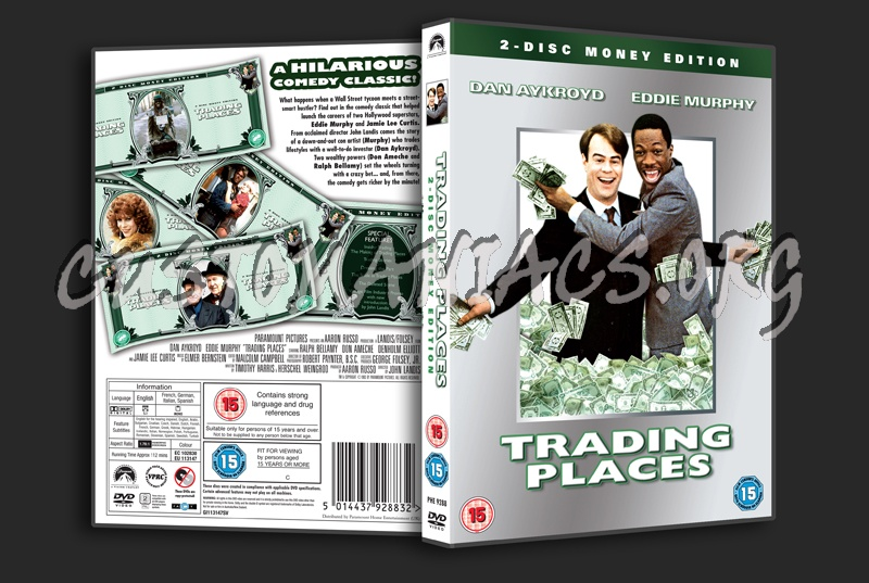 Trading Places dvd cover