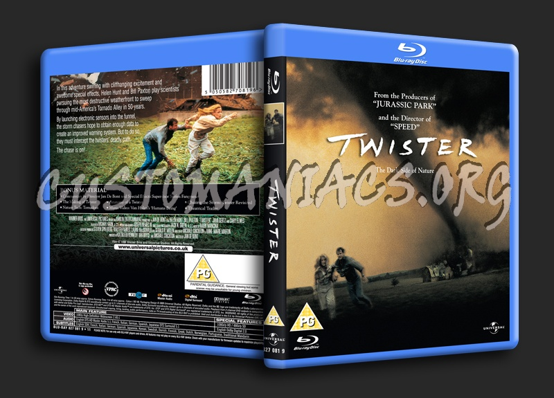 Twister blu-ray cover