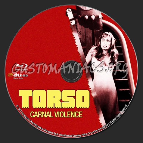 Torso (I Corpi Presentano Tracce di violenza Carnale) blu-ray label