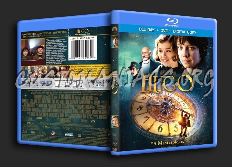 Hugo blu-ray cover