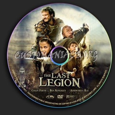 Last Legion, The dvd label