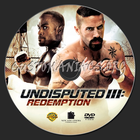 Undisputed 3 dvd label