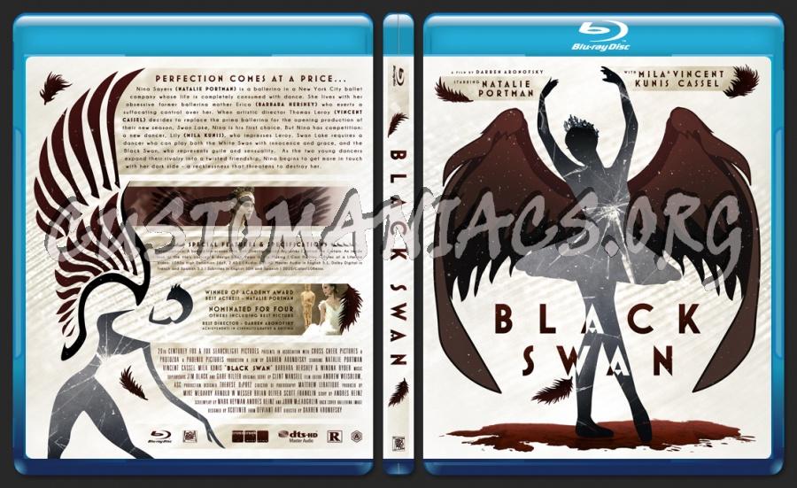 Black Swan blu-ray cover