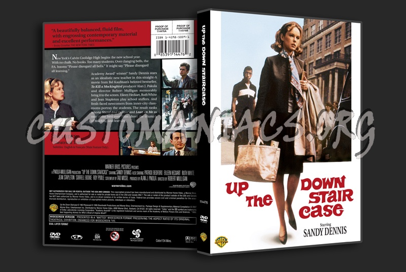 Up The Down Staircase Dvd Cover Dvd Covers Labels By