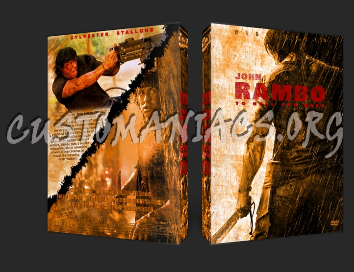Rambo (2008) dvd cover - DVD Covers & Labels by ...