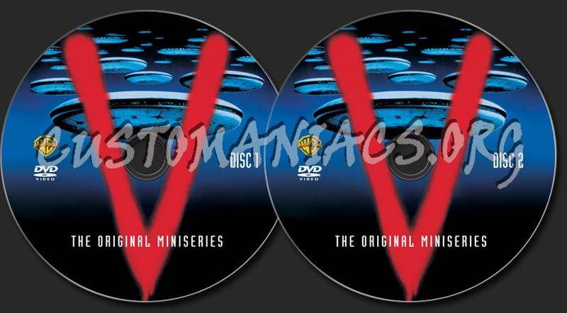 V The Original Miniseries dvd label