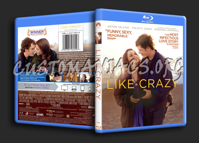 Like Crazy blu-ray cover