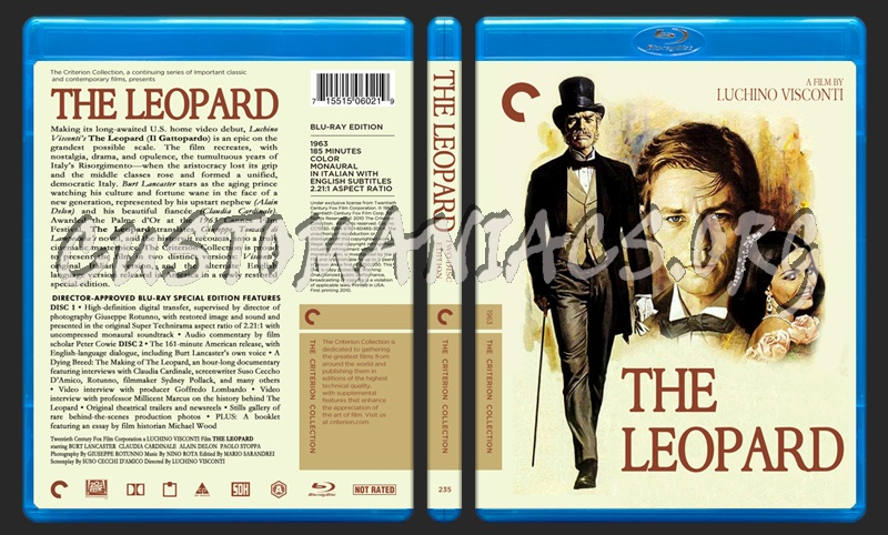 235 - The Leopard blu-ray cover