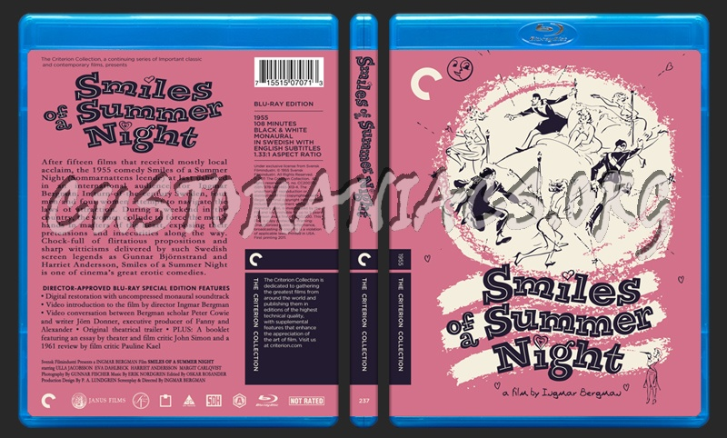 237 - Smiles Of A Summer Night blu-ray cover